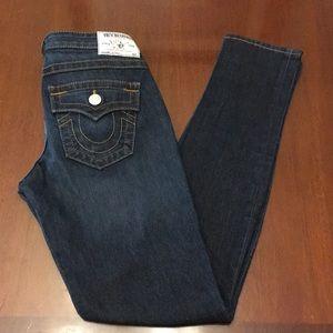 True Religion Julie Skinny Jeans Size 28